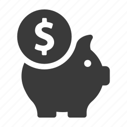 bank, finance, guardar, money, pig, piggy, save, savings icon