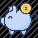 money, piggy, save money, savings