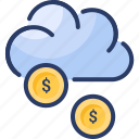 cloud, funding, money