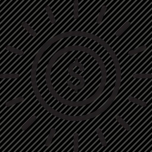 Budget, coin, dollar, finance, money icon - Download on Iconfinder