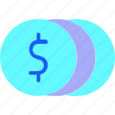 coin, currency, dollar, finance, financial, money, sign