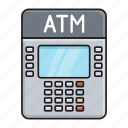atm, bank, machine, money, withdraw