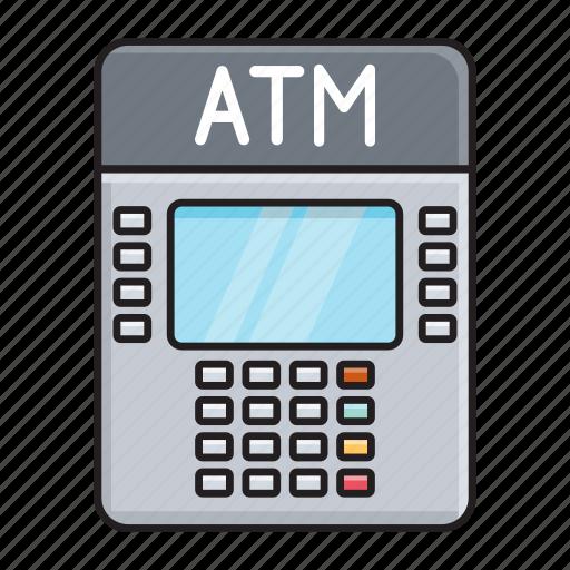 atm, bank, machine, money, withdraw icon