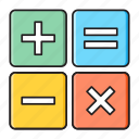 accounting, calculation, calculator, finance, statistics icon