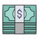 cash, currency, dollar, money, saving icon