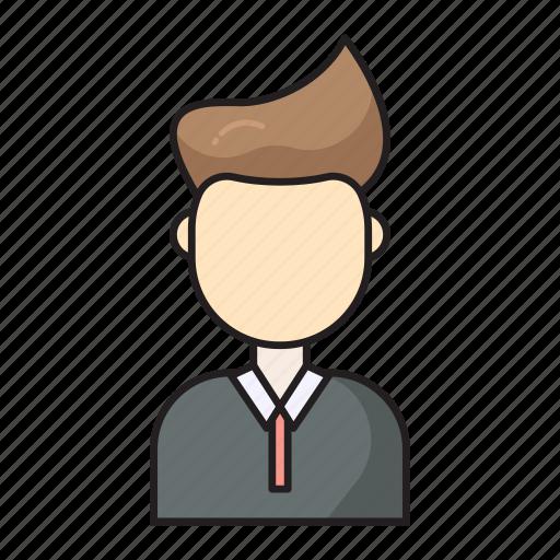 employee, male, man, staff, user icon