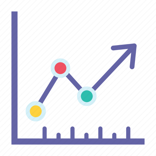 chart, finance, growth, increase, statistics icon