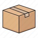 box, carton, delivery, package, parcel