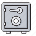 protection, safe, safety, securitybox, vault icon