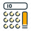 calculate, calculation, calculator, finance, math, mathematical, mathematics icon