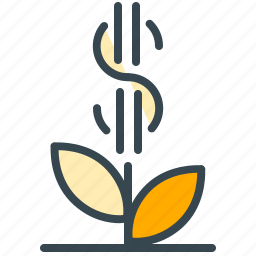 dollar, finance, financial, growth, money, payment icon