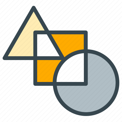 diagram, finance, graph, shapes, statistics icon