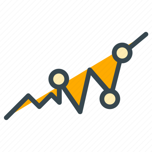 analytics, chart, diagram, finance, graph, statistics icon