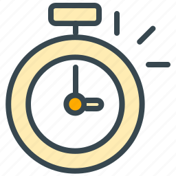 clock, finance, schedule, stopwatch, time, timer icon