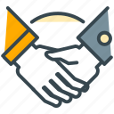 agreement, contract, deal, finance, handshake, partnership icon