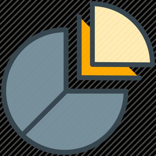 analytics, chart, diagram, finance, graph, pie, statistics icon