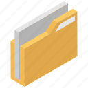 business, file folders, management, office, work icon