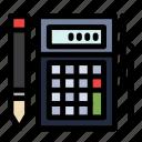 budget, calc, calculation, financial, math