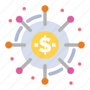 campaign, crowd, crowdsourcing, donation, funding, funds icon