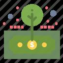 asset, finance, investment, return, roi icon