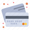 cards, banking, credit, money, payment icon