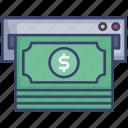 atm, cash, dollar, finance, machine, money