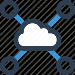 cloud, connect, connection, data, internet, online, web icon