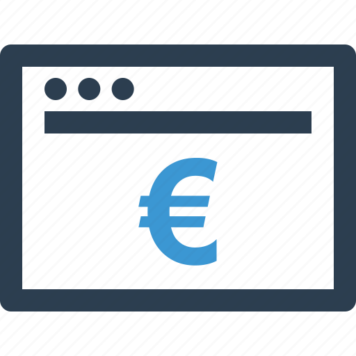 browser, buy, currency, money, pay, payment, wealth icon