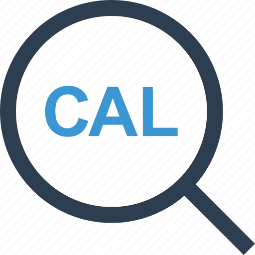cal, calendar, event, magnifier, schedule, search icon