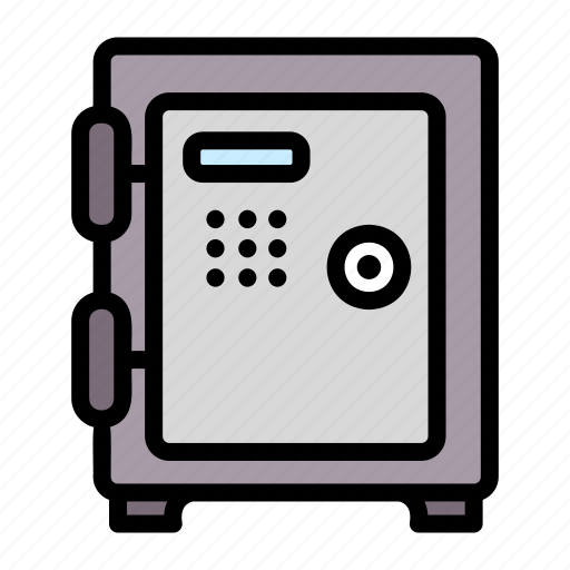 Box, safe, security, safety, money, metal, bank icon - Download on Iconfinder
