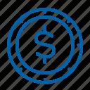 coin, money, finance
