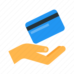 accept, card, credit, debit, money, payment, shopping icon