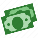 banknote, banknotes, cash, currency, dollar, money icon