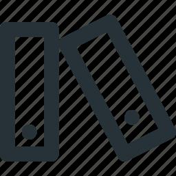 dossier, office, paper, storage icon