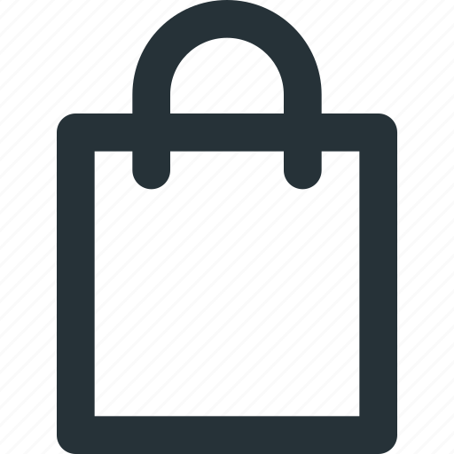 bag, commerce, e-commerce, groceries, paper, shopping icon