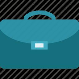 attache case, bag, briefcase, business, law icon