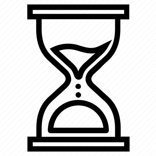 clock, hourglass, out of time, sand, stopwatch, time, timer icon