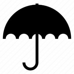 rain, rainy, umbrella, weather icon