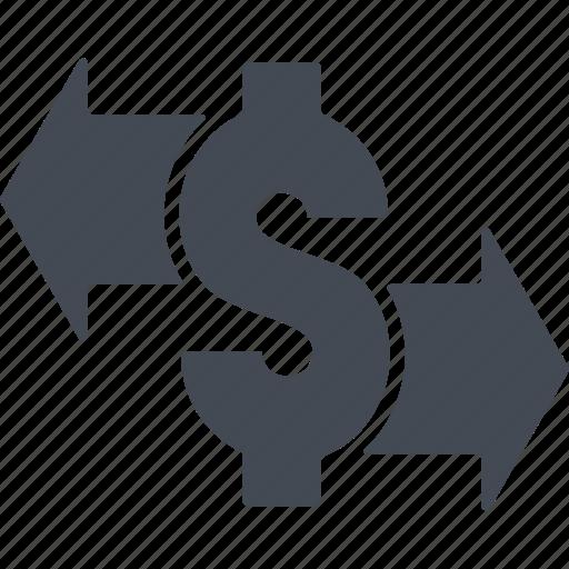 business, cash, cash flow, finance, money icon