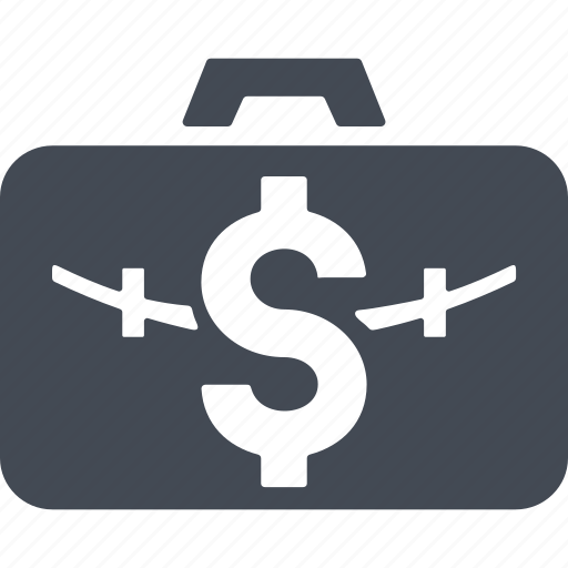 business, case, currency, finance, money icon
