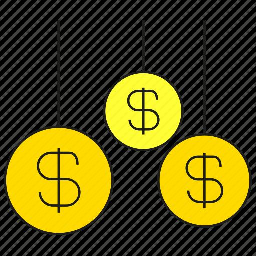 dollar, finance, money, wealth icon