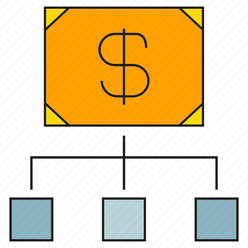 bank, diagram, finance, money icon