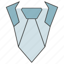 jacket, necktie, shirt, suit icon