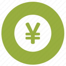 coin, currency, finance, financial, money, yen icon