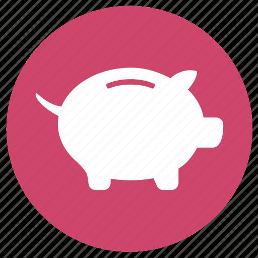 finance, financial, piggy bank, savings icon