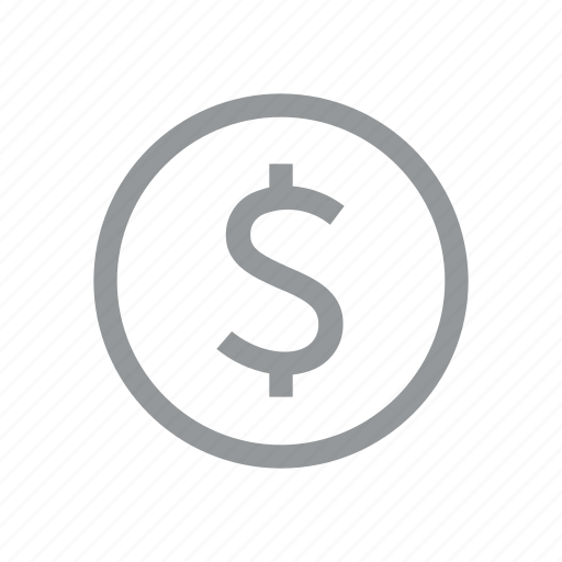 coin, currency, dollar, finance, konnn, money, sign icon