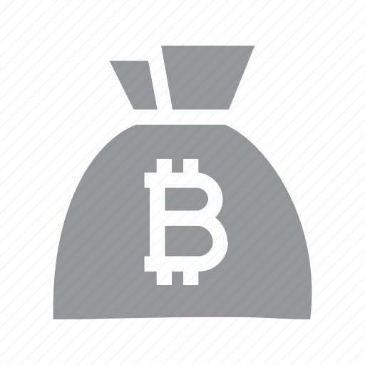 bag, bitcoin, coin, currency, finance, konnn, money icon