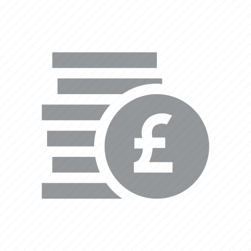 coin, currency, finance, konnn, money, pound, sterling icon