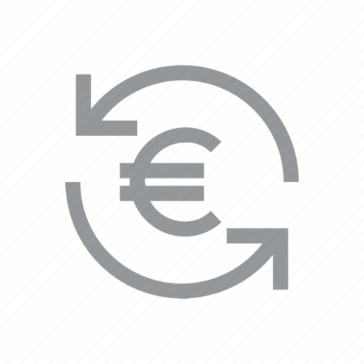 currency, euro, finance, konnn, money, reload, sign icon