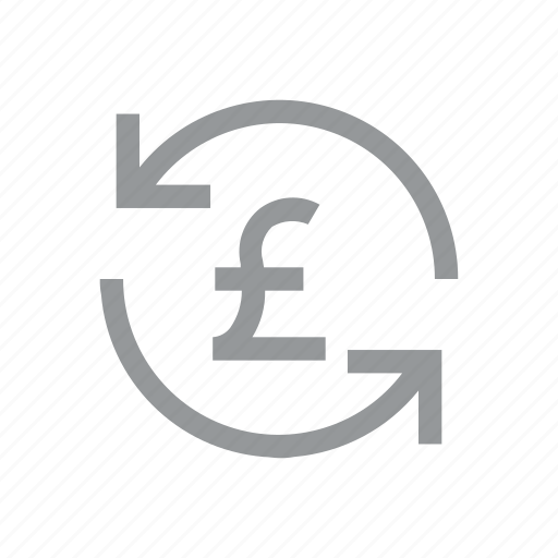 currency, finance, konnn, pound, reload, sign, sterling icon